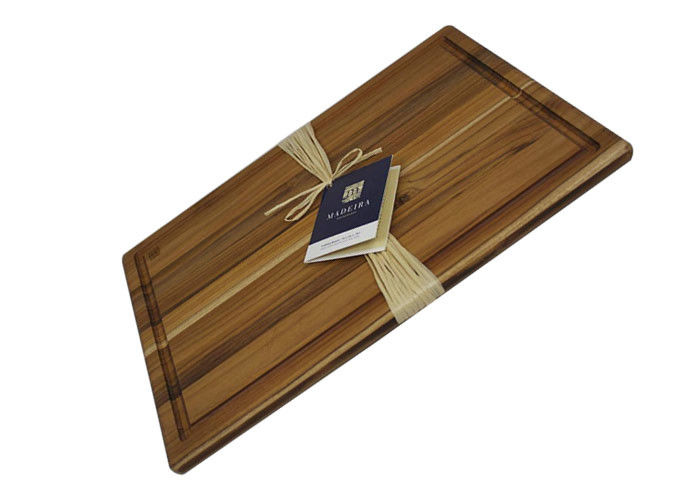 16x12 Kitchen Bamboo Cutting Board Antibacterial Environmentally Friendly